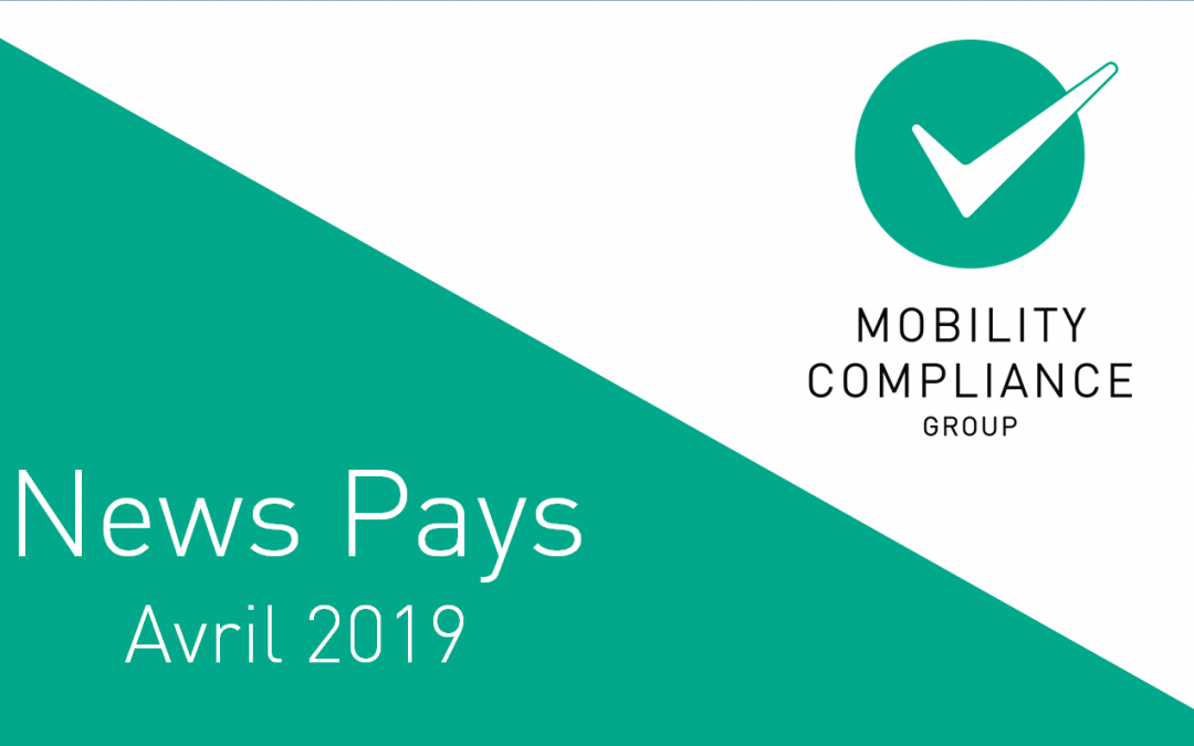 News Pays – avril 2019